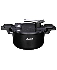 Pressed Aluminum 5.0 Litre Capacity Low Pressure Cooker 10""