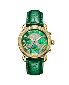 Women's Victory Diamond (1/6 ct. t.w.) Watch in 18k Gold-plated Stainless-steel Watch 37mm