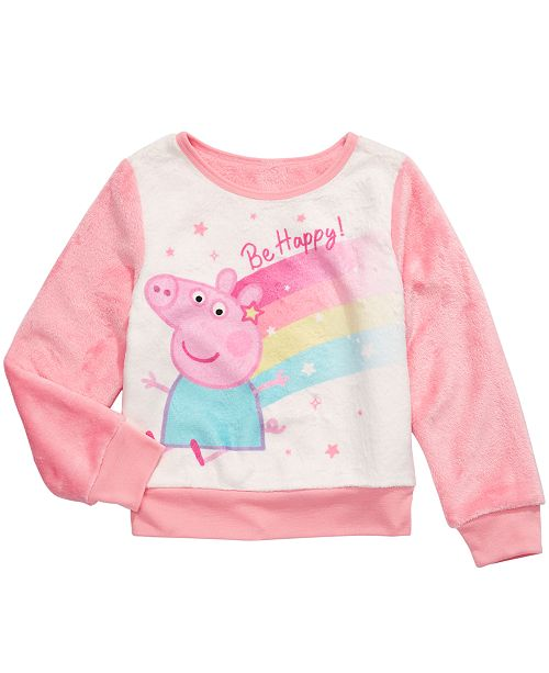 Peppa Pig Little Girls Be Happy Sweatshirt