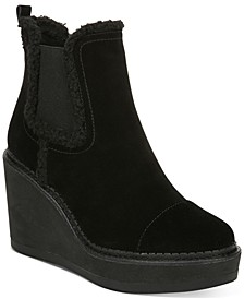 Reagan Wedge Booties