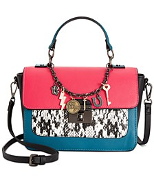 Betysey Johnson Animal Instinct Flap Crossbody