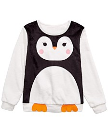 Big Girls Penguin Sweatshirt