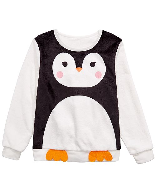 Evy of California Big Girls Penguin Sweatshirt