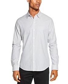 Men's Regular-Fit Stretch Stripe Shirt