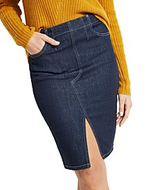 Paula Denim Pencil Skirt