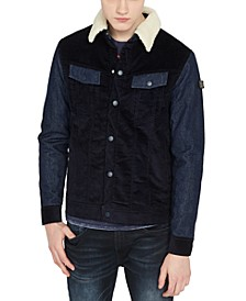 Men's Jivo Fleece Collar Corduroy Jacket