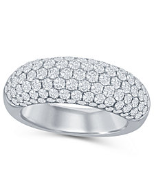 Diamond (2 ct. t.w.) Micro Pave Band in 14K White Gold