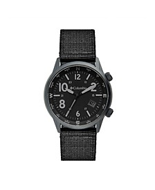 Men's Outbacker Black Nylon Strap Watch 42mm