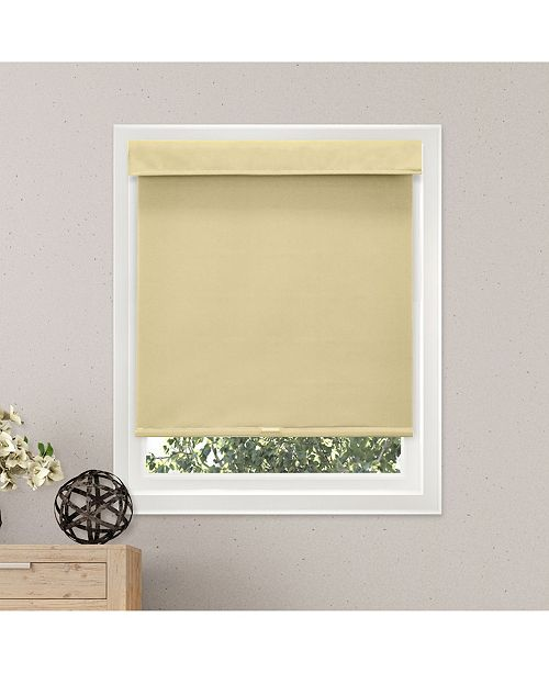 """Chicology Cordless Roller Shades, No Tug Privacy Window Blind, 48"""" W x 72"""" H"""