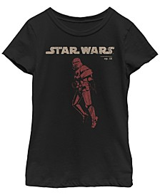 Big Girls Rise of Skywalker Trooper Jet Pack T-Shirt