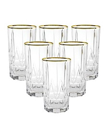 Chic High Ball Tumblers - Set of 6