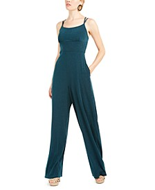 Juniors' Emma Glitter Jumpsuit