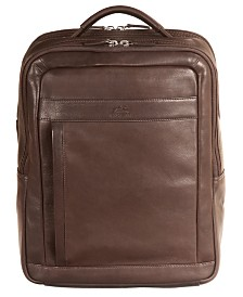 """Mancini Colombian Collection Slim 15.6"""" Laptop Backpack"""