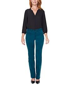 Marilyn Tummy Control Straight-Leg Jeans