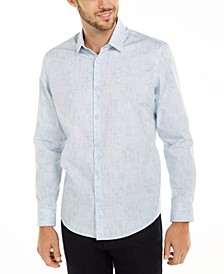 Men's Classic-Fit Abstract Plaid Shirt, Created for Macy's