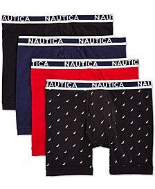 Men's 4-Pk. Stretch Boxer Briefs