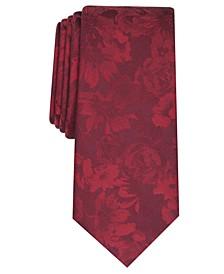 Men's Glacier Skinny Floral Tie, Created for Macy's