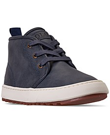 Little Boys Chett EZ Mid Top Casual Sneaker Boots from Finish Line