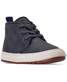 Polo Ralph Lauren Little Boys Chett EZ Mid Top Casual Sneaker Boots from Finish Line