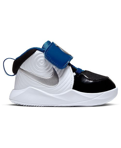Nike Toddler Boys Team Hustle D 9 Auto Stay-Put Closure Casual Athletic Sneakers from Finish Line