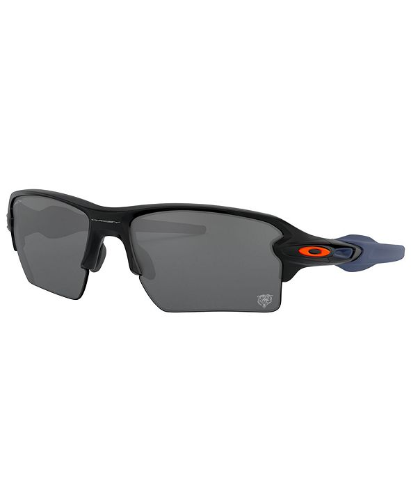 Oakley NFL Collection Sunglasses, Chicago Bears OO9188 59 FLAK 2.0 XL