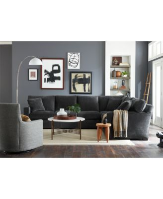 Brekton Fabric Swivel Glider