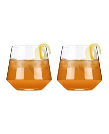 Raye Crystal Cocktail Tumblers Set of 2