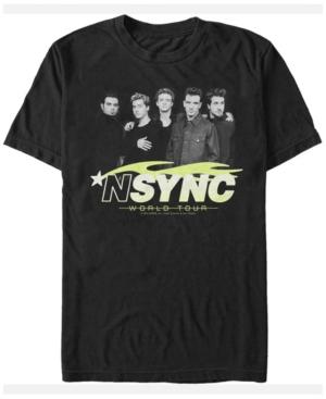 N'Sync Men's World Tour Portrait Short Sleeve T-Shirt