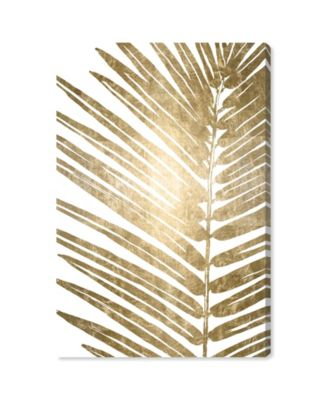Cal Leaves II Canvas Art, 30