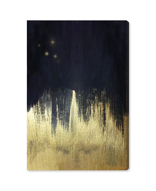 """Oliver Gal Starry Night Canvas Art, 24"""" x 36"""""""