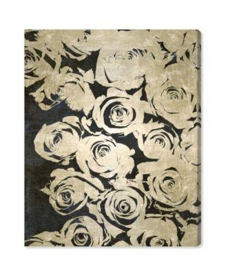 Dark Rose Canvas Art, 24
