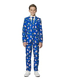 Big Boys Snowman Christmas Suit