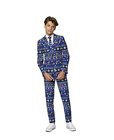 Big Boys Merry Mario Christmas Suit