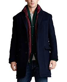 Men's Polo Soft Wool-Blend Topcoat
