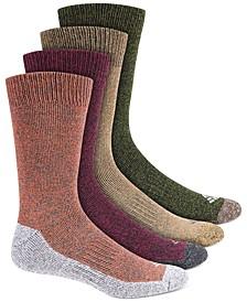 Men's 4-Pk. Moisture-Control Boot Socks