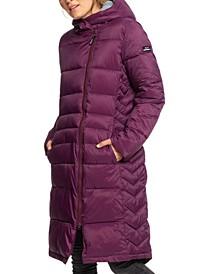 Juniors' Everglade Hooded Puffer Coat