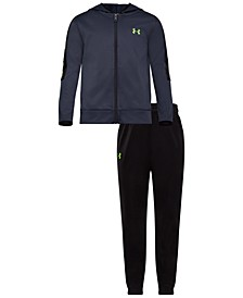 Little Boys 2-Pc. Hoodie & Pants Track Set