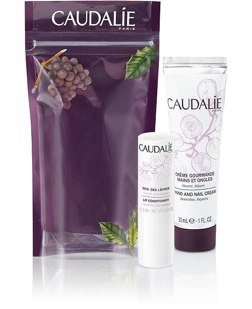 Caudalie 2-Pc. Hand & Lip Winter Set