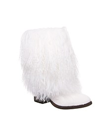 Women's Boticia Curly Lamb Boots