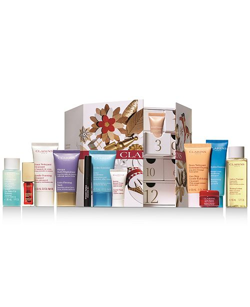 Clarins 12-Pc. Holiday Wishes Advent Calendar Gift Set