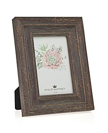 """Taupe Wood Frame - 4"""" x 6"""""""