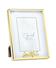 "Beautiful Gold Frame - 6"" x 8"""