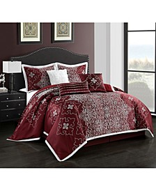 Kelton 7-Piece California King Comforter Set