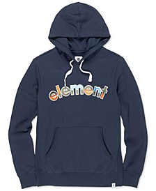 Men's Rainbow Logo Graphic Hoodie