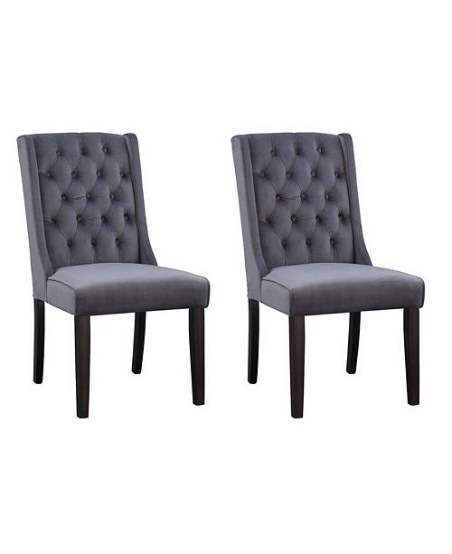 Coast to Coast Side Dining Chair (Set of 2), Quick Ship