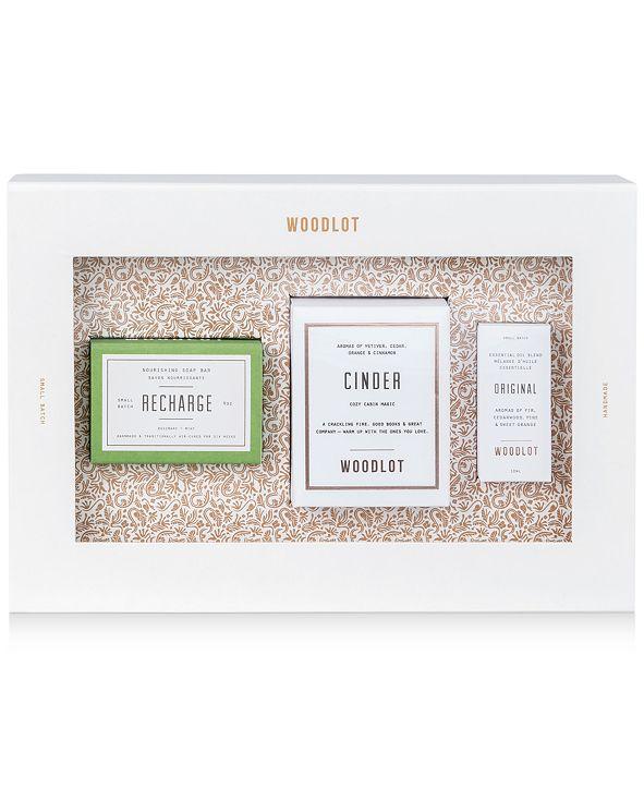 WOODLOT 3-Pc. Essentials Gift Set