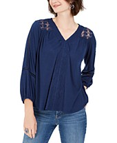 Womens Co Macy's Tops Styleamp; CtshdQxoBr