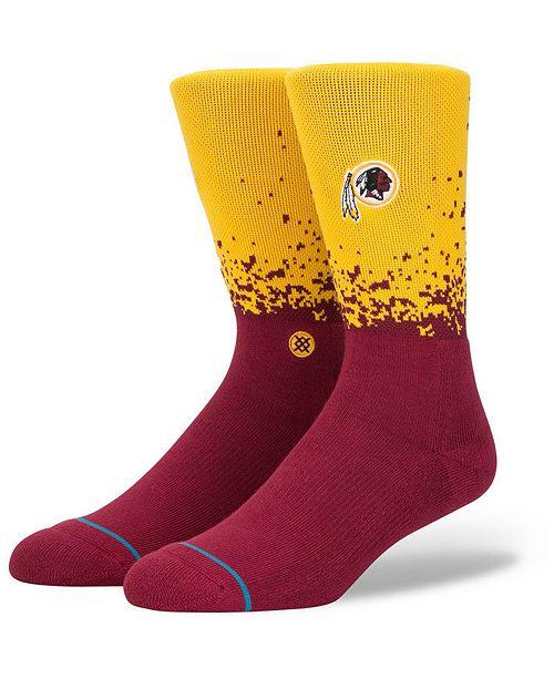 Stance Washington Redskins Fade Crew Socks