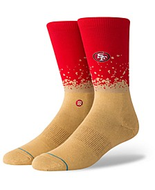 San Francisco 49ers Fade Crew Socks