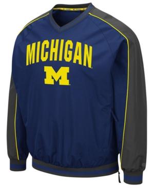 Men's Michigan Wolverines Duffman Windbreaker Jacket